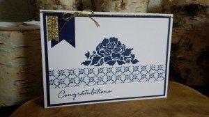 stampin up, floral phrases, floral boutique design paper