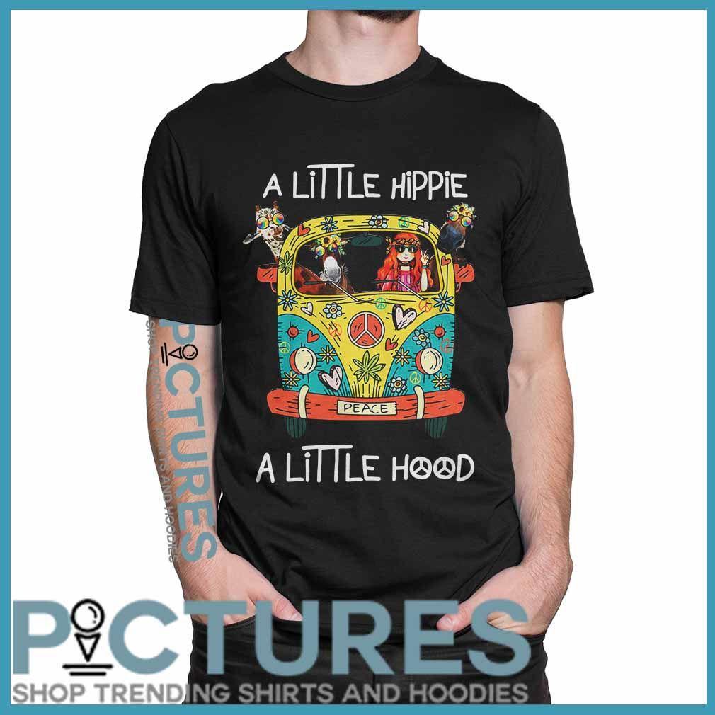 Official Cow Giraffe Hippie Flower Peace Bus A Little Hippie A