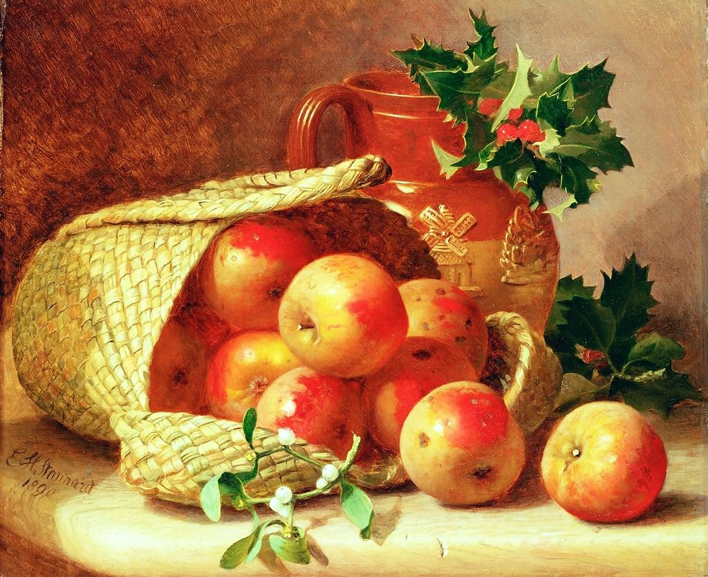 Still Life with Apples jigsaw puzzle in Fruits & Veggies puzzles on TheJigsawPuzzles.com