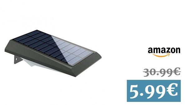 MoKo Luz de Solar LED - Lámparas solares LED Impermeable Luces del - lamparas para escaleras