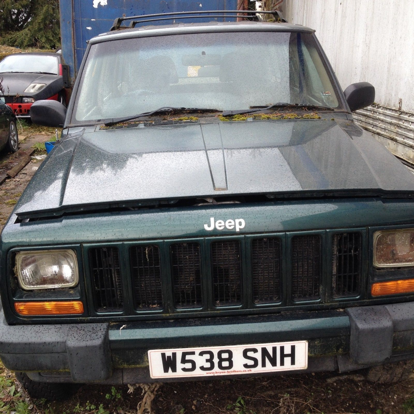 Ebay 2000 Jeep Cherokee 4x4 4wd 2 5td Spares Or Repair Green