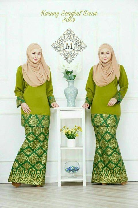 Warna Baju Kebaya Yang Cantik