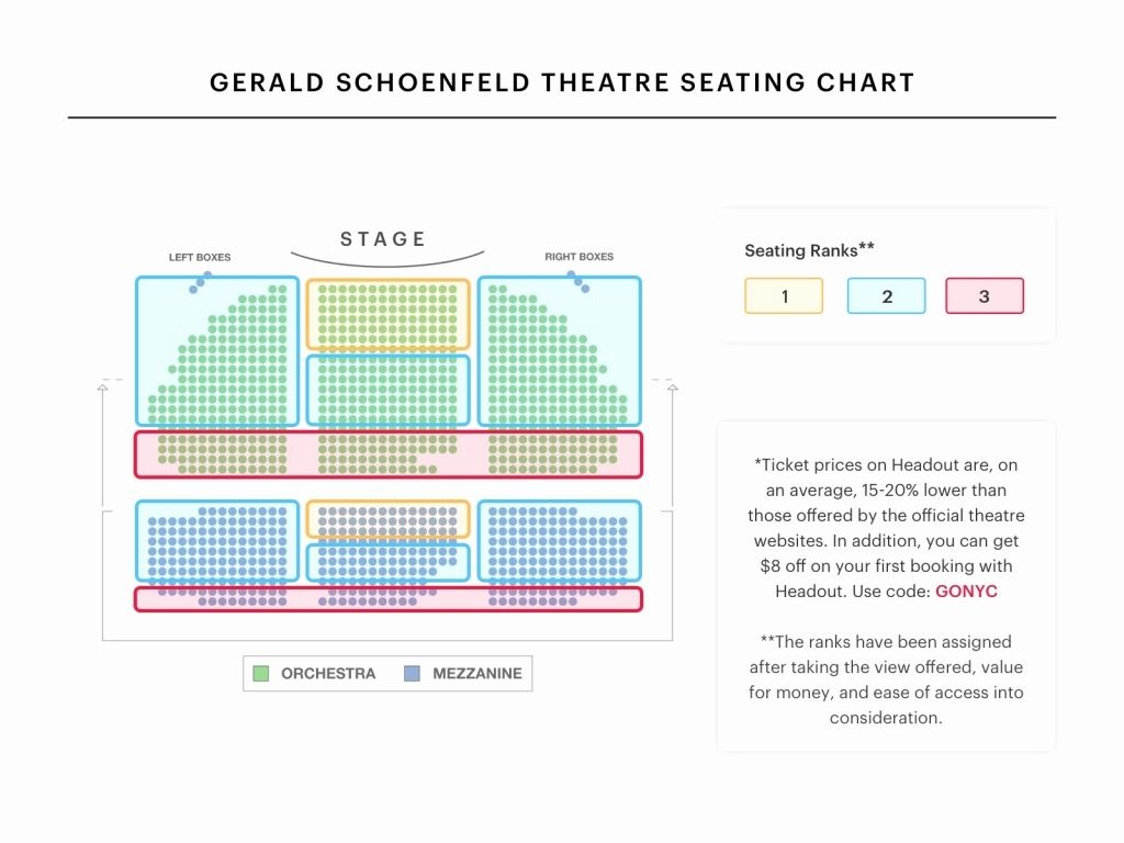 The Most Awesome Ethel Barrymore Theater Seating Chart Di 2020