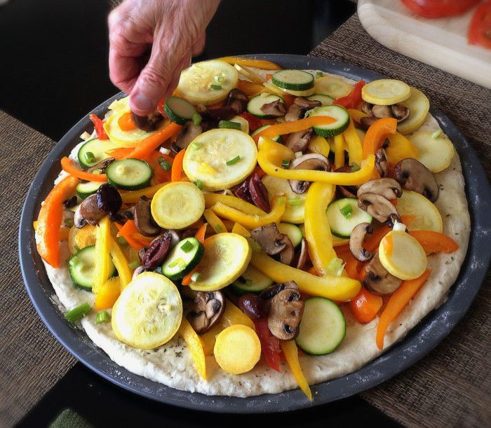 Vegan Ratatouille Pizza - Peaceful Dumpling
