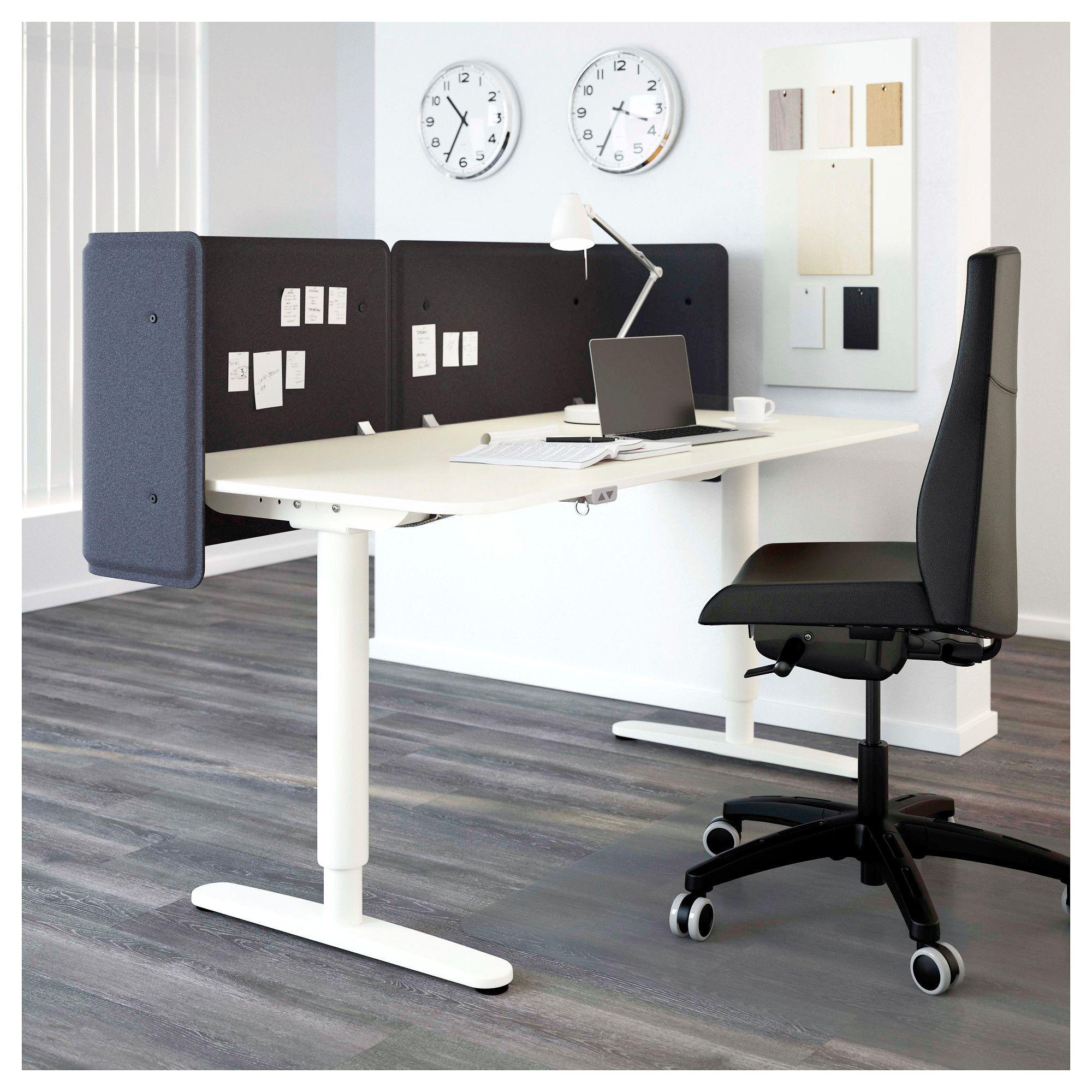 ikea bekant reception desk sit stand white cafe ikea desk rh pinterest com
