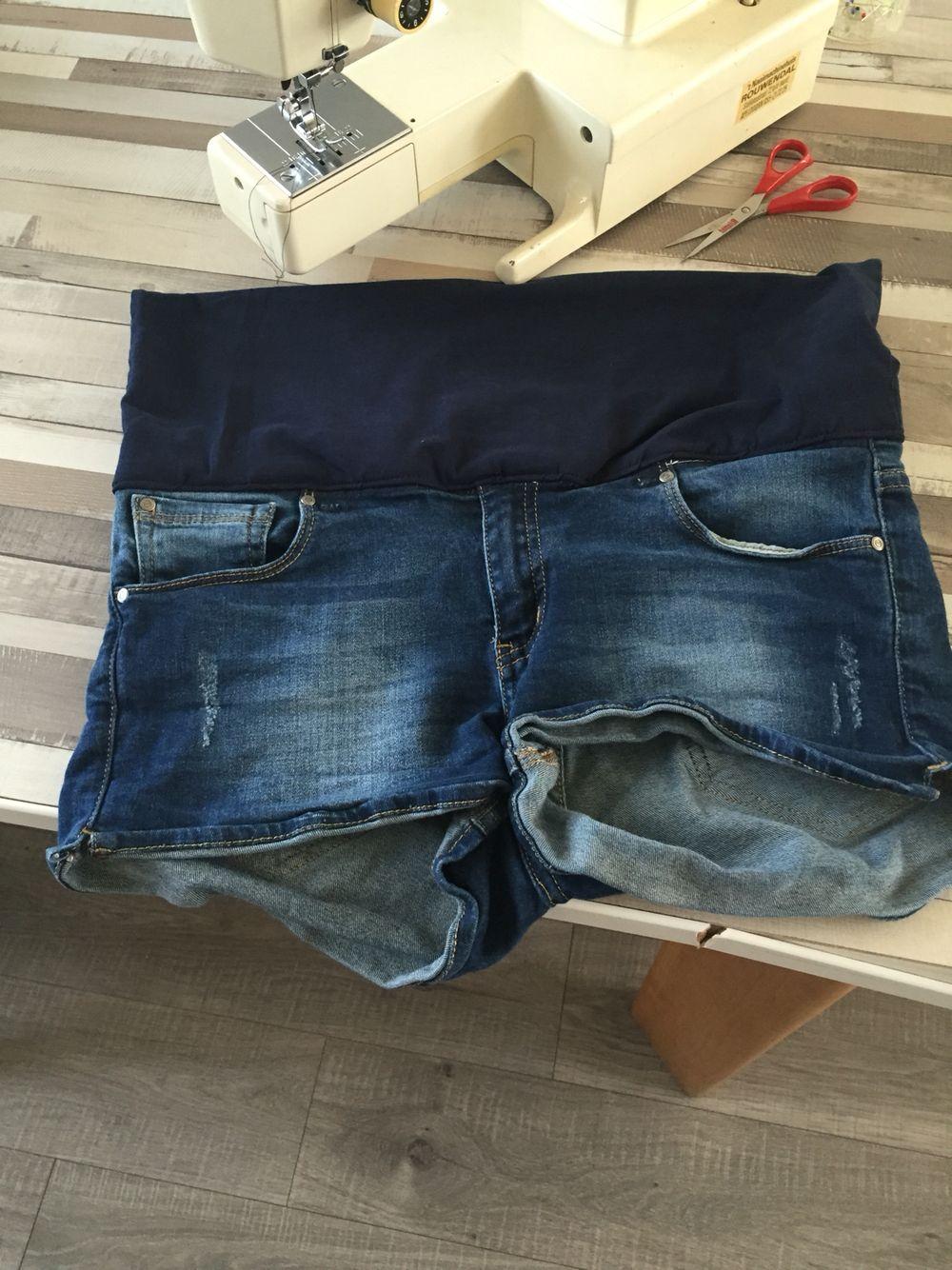 Korte broek + tricot rokje = zwangerschapsbroekje!!