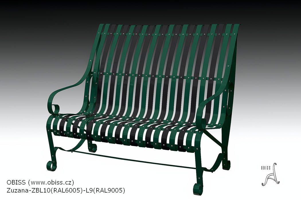 Gartenbank Ral 6005 9005 Farbpalette Von Modedesign Sitzbanken Ist Fur Traditionelle Ua Moderne Urbanistische Lansc Gartenbank Metall Hintergarten Gartenbank