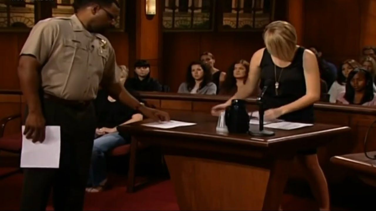 Judge Judy S17 Eps306 Reality Tv Shows Judge Judy Reality Tv
