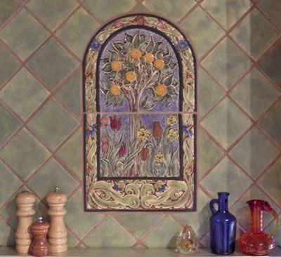 Decorative 4X4 Ceramic Tiles Beauteous Decorative Handmade Ceramic Tile Decorative Relief Carved Ceramic Inspiration Design