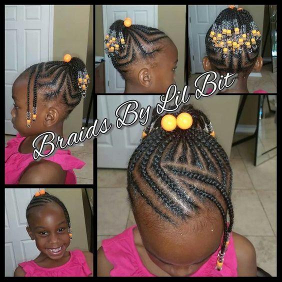 Little Girl Braids Littlegirlhairstyles With Images Little