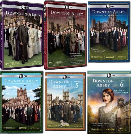 Downton Abbey Dvd Series Seasons 1 6 Set Downton Abbey Dvd