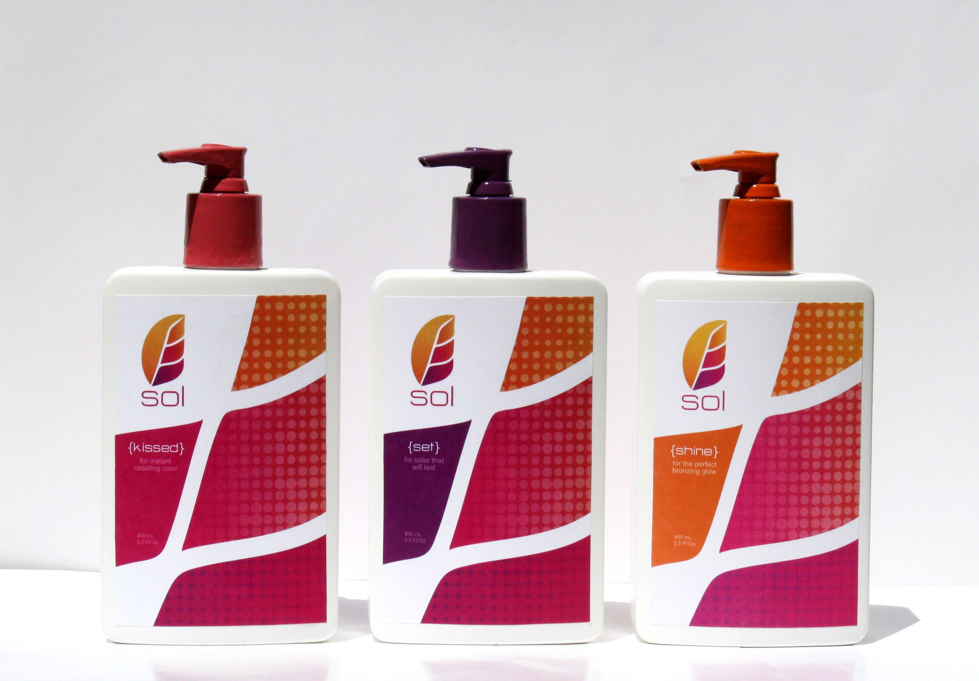 tanning lotion packaging (front)