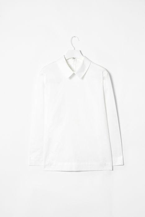 #white #minimal #shirt