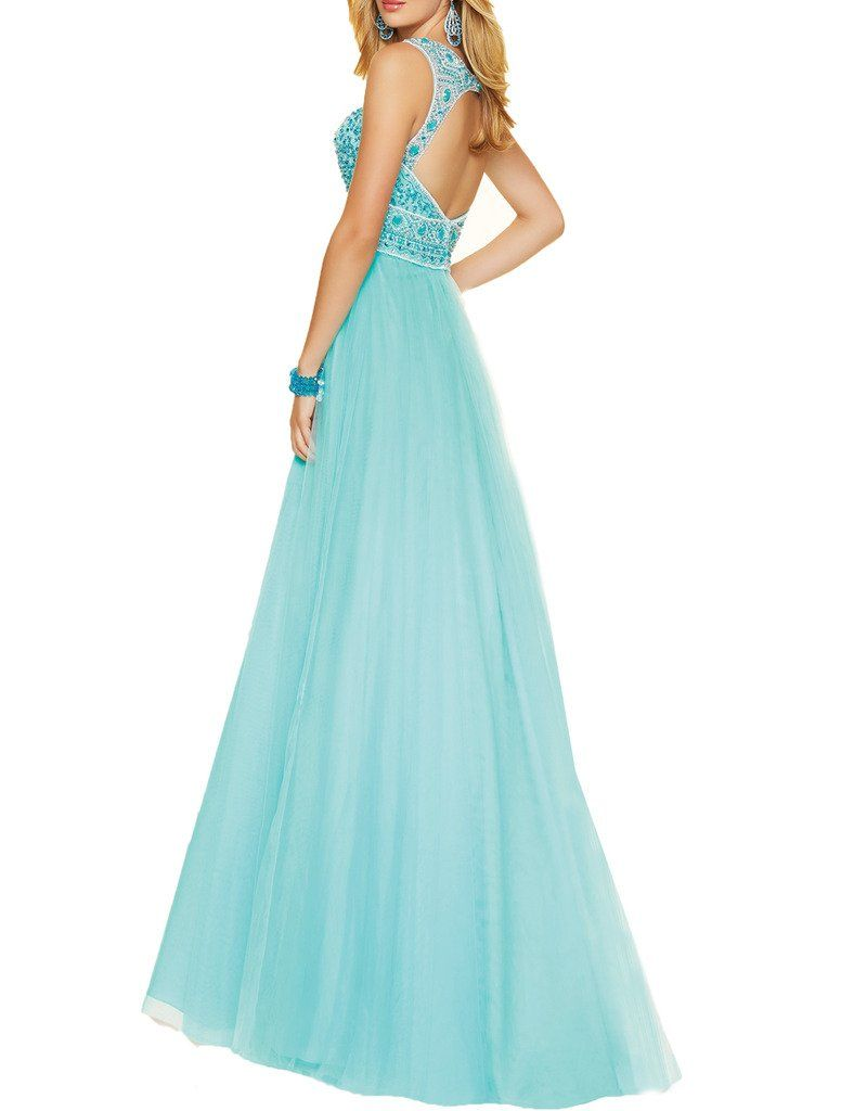 Ice beauty beads sweetheart prom dresses tulle evening party gowns