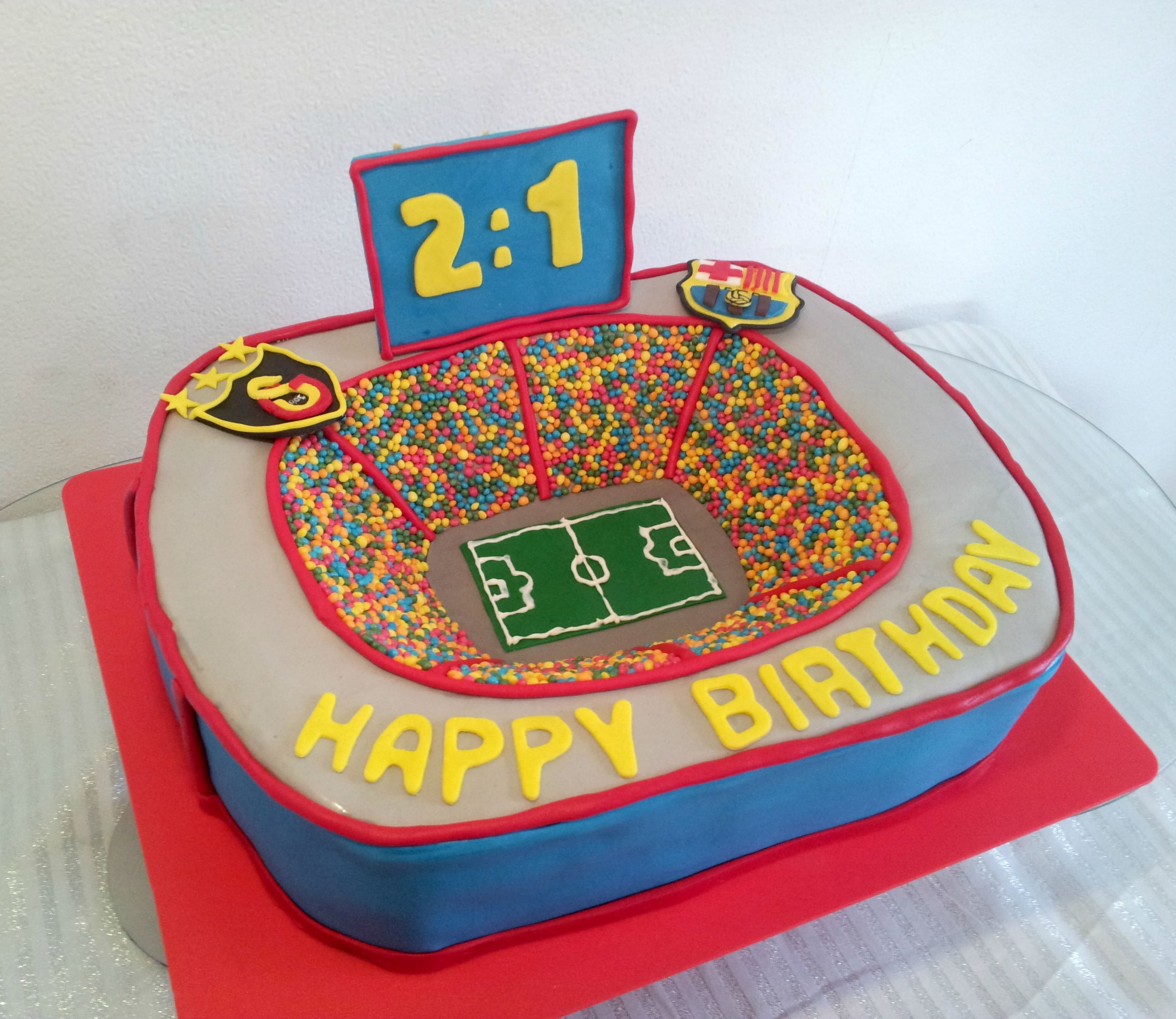 My Second Stadium Cake I Made