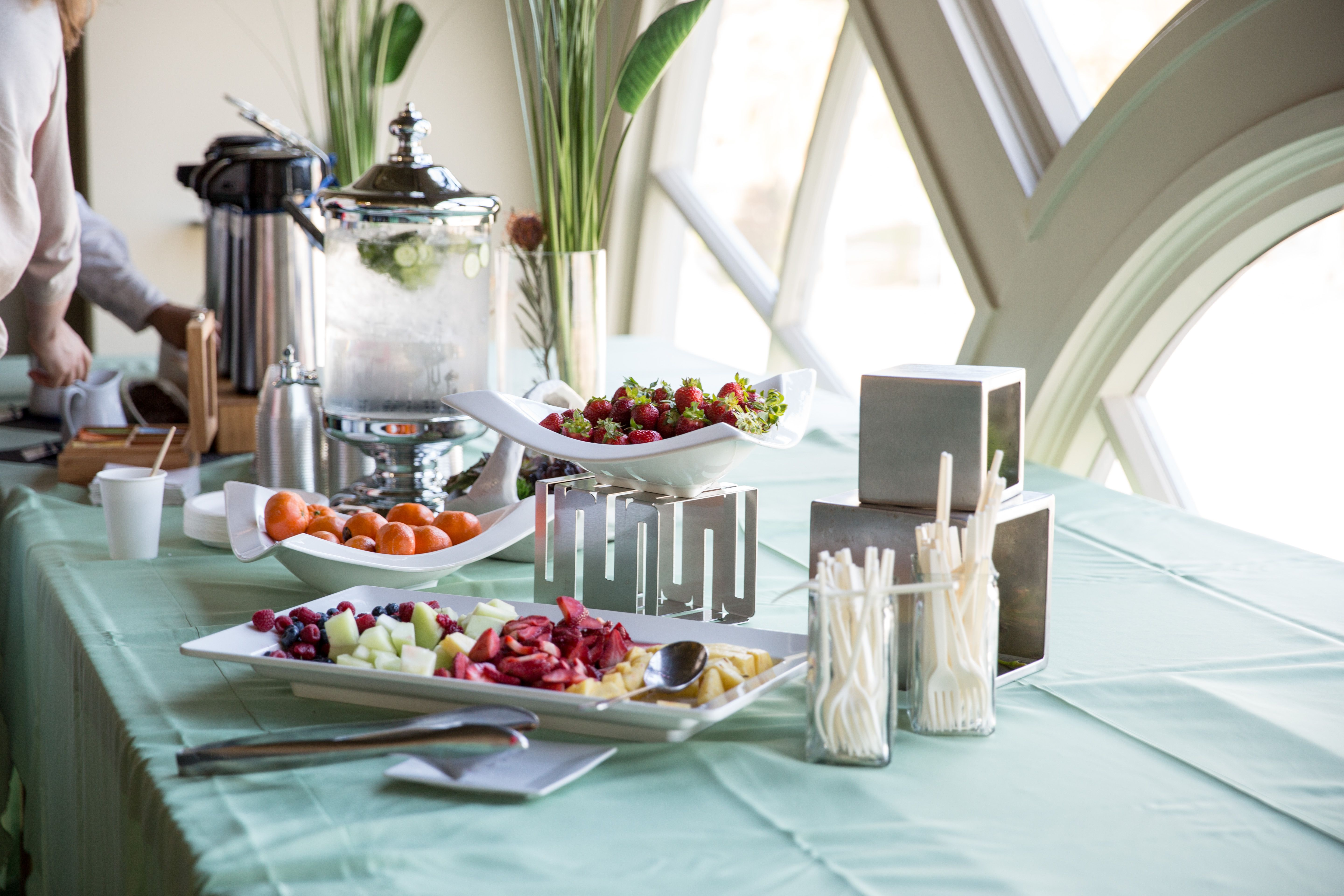 Food At Work Setting The Table For A Healthy Workforce