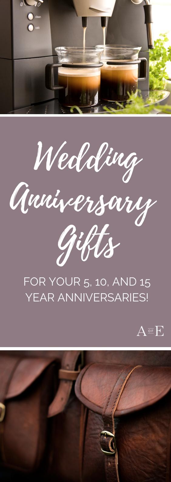 Modern Anniversary Gifts YearbyYear Modern anniversary