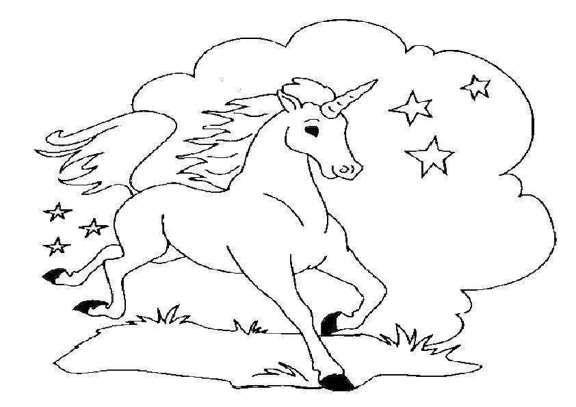 Malvorlagen Einhorn-7 Malvorlagen Gratis Unicorn