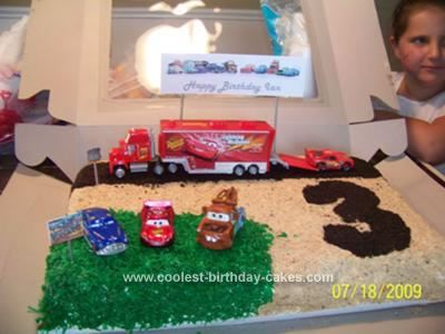 Coolest Cars Ice Cream Birthday Cake Ice cream birthday cake