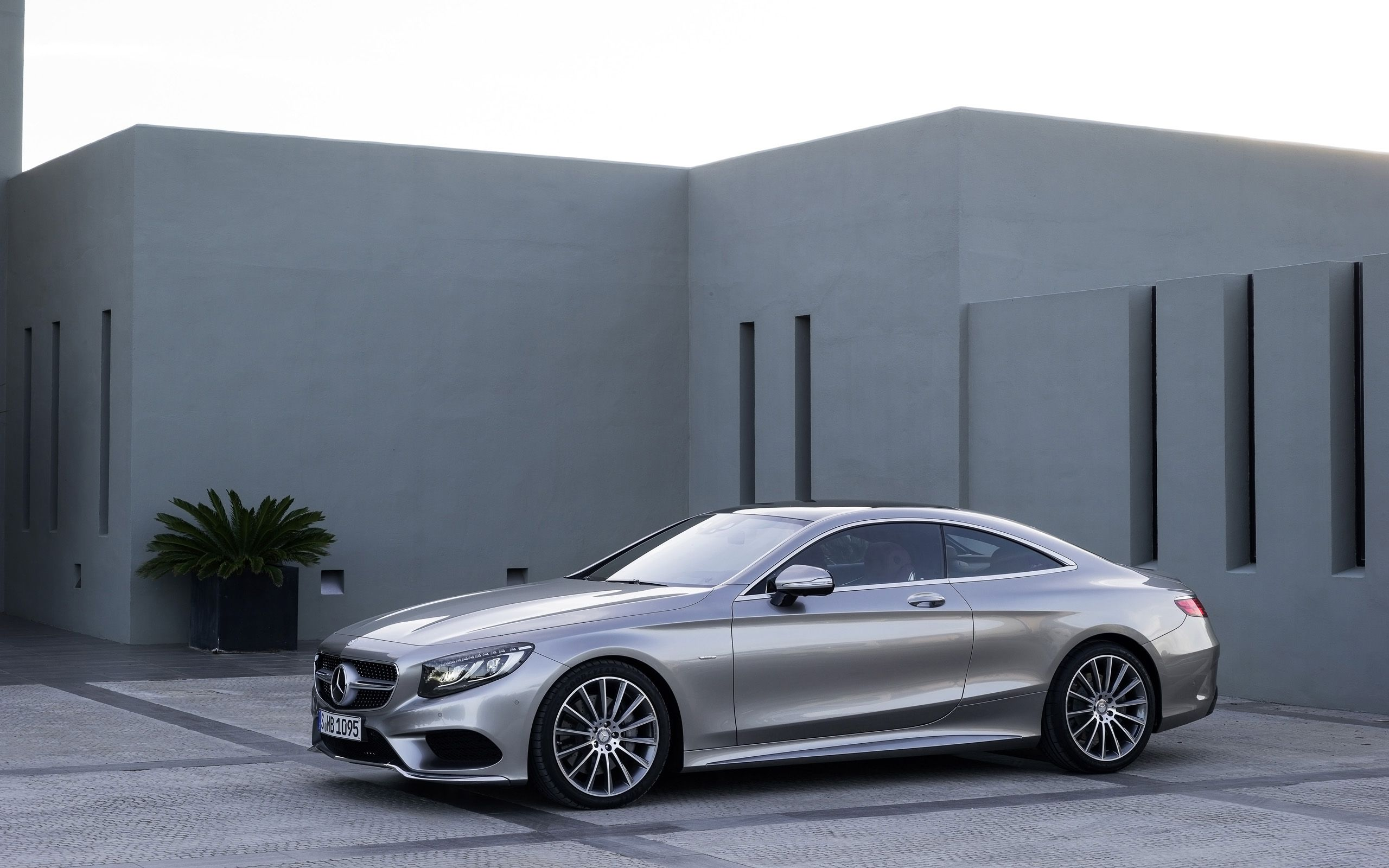 2014 Mercedes Benz S Class Coupe Silver Static With Images