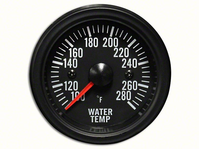 Prosport White Led Water Temperature Gauge