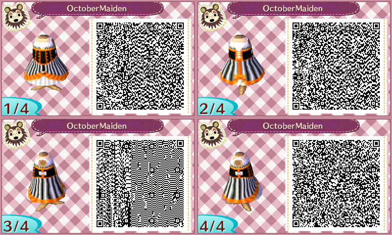 October Maiden by JedsOtherPoem Qr codes animal crossing