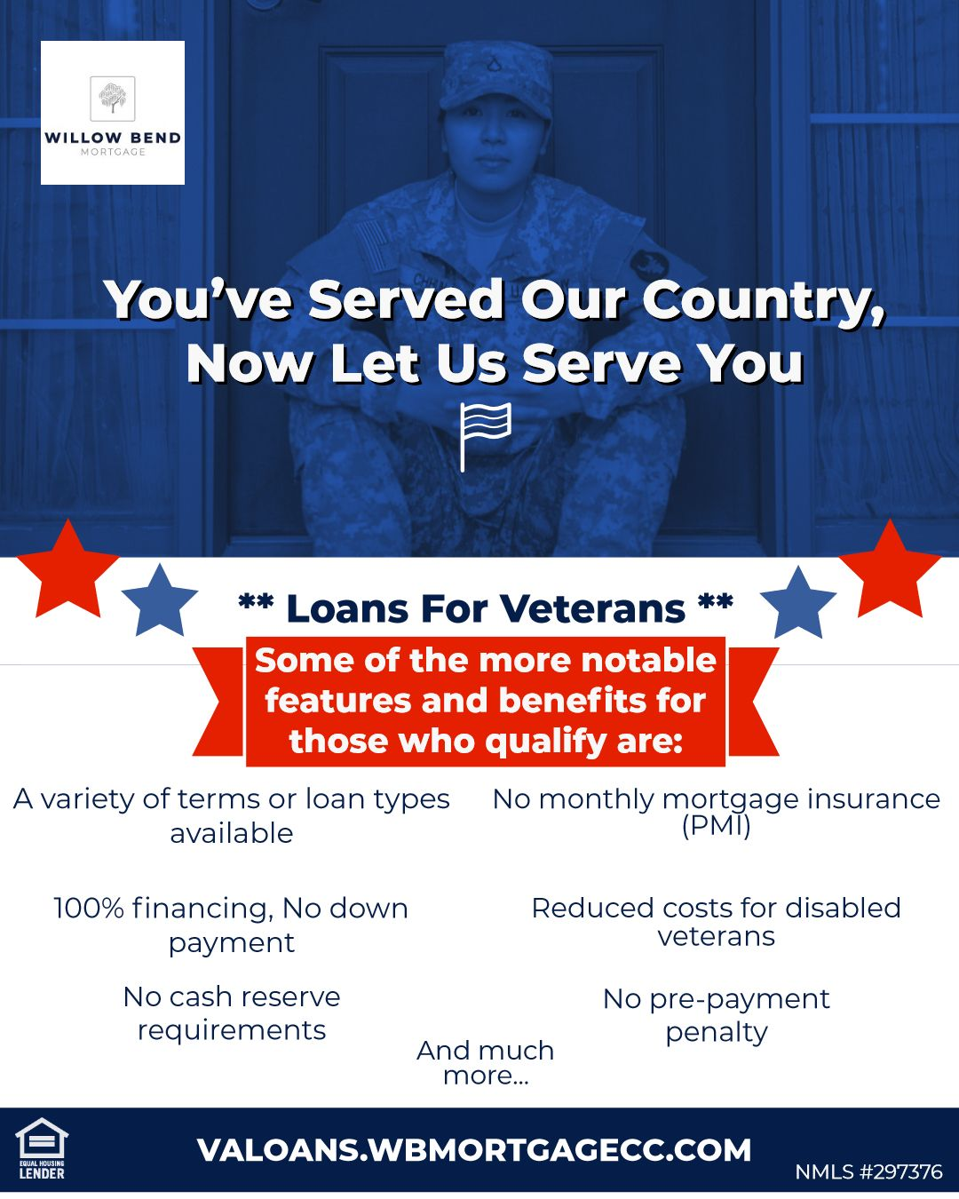 Considering Taking Advantage Of Your Va Loan Benefits Willow Bend Mortgage Offers Va Home Loans Fin Resume Design Creative Va Loan Human Resources Resume