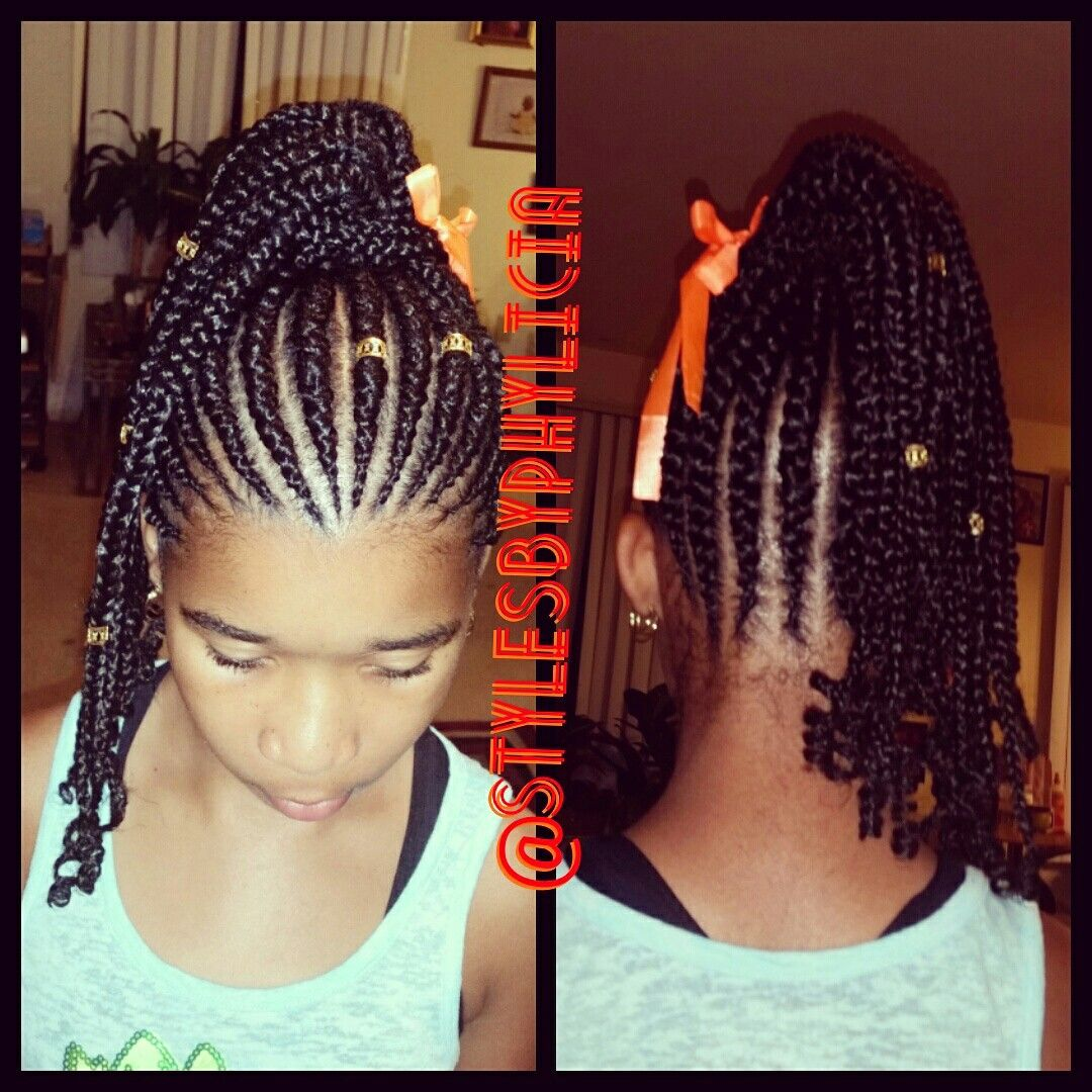 Pin by stylesby phylicia on kids braids painfree stylesbyphylicia