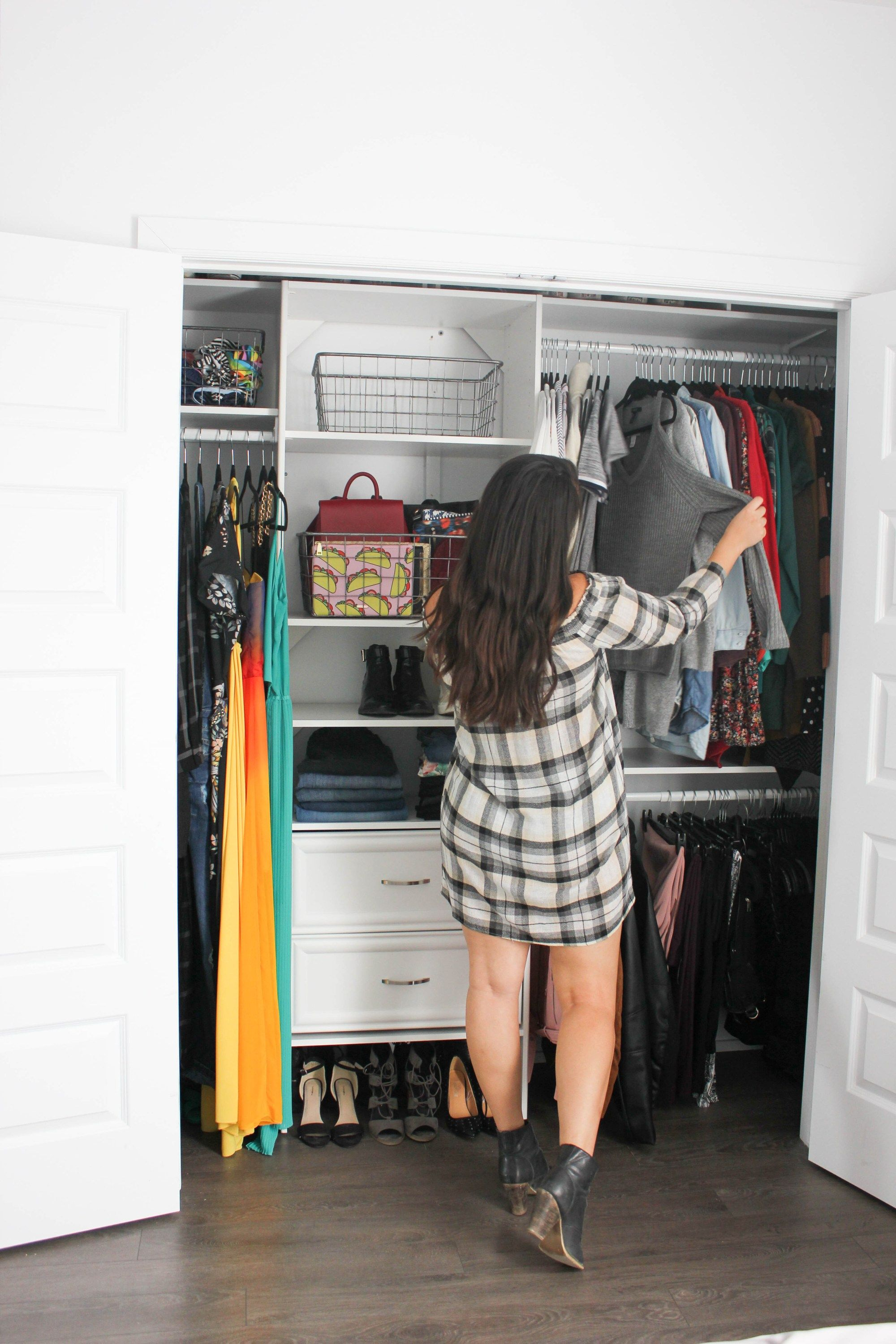 Master Bedroom Closet Makeover  Motherhood In Stilettos