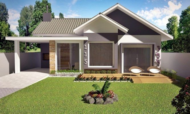 American Style 3 Bedroom House Plan   Pinoy House Designs