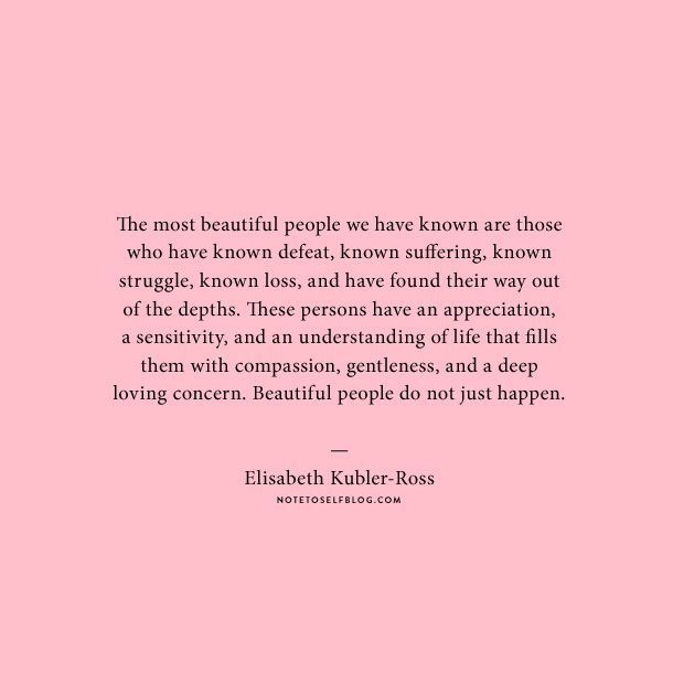 Inspirational Day Quotes: Beautiful People Do Not Just Happen