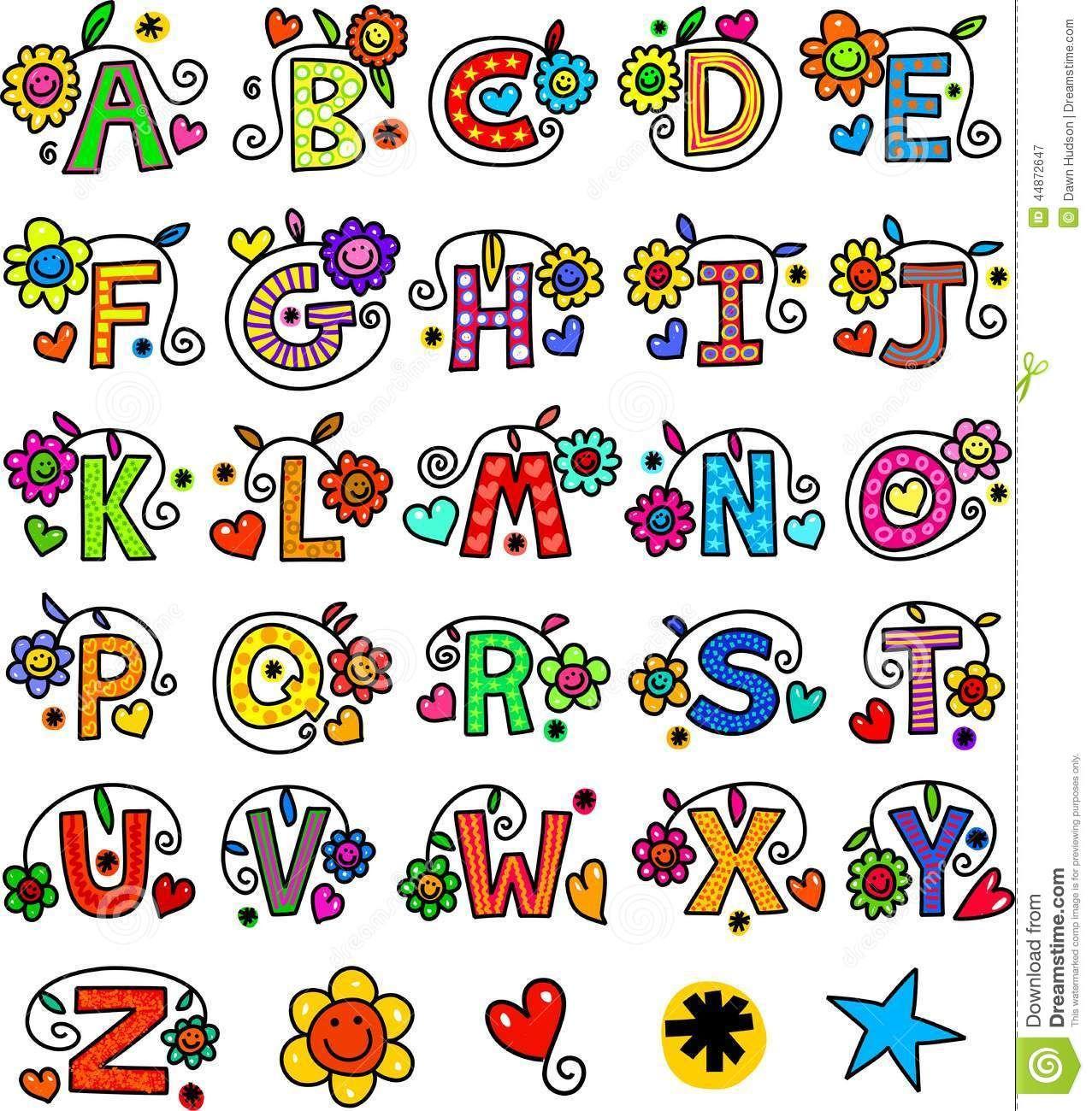 Whimsical Lettering