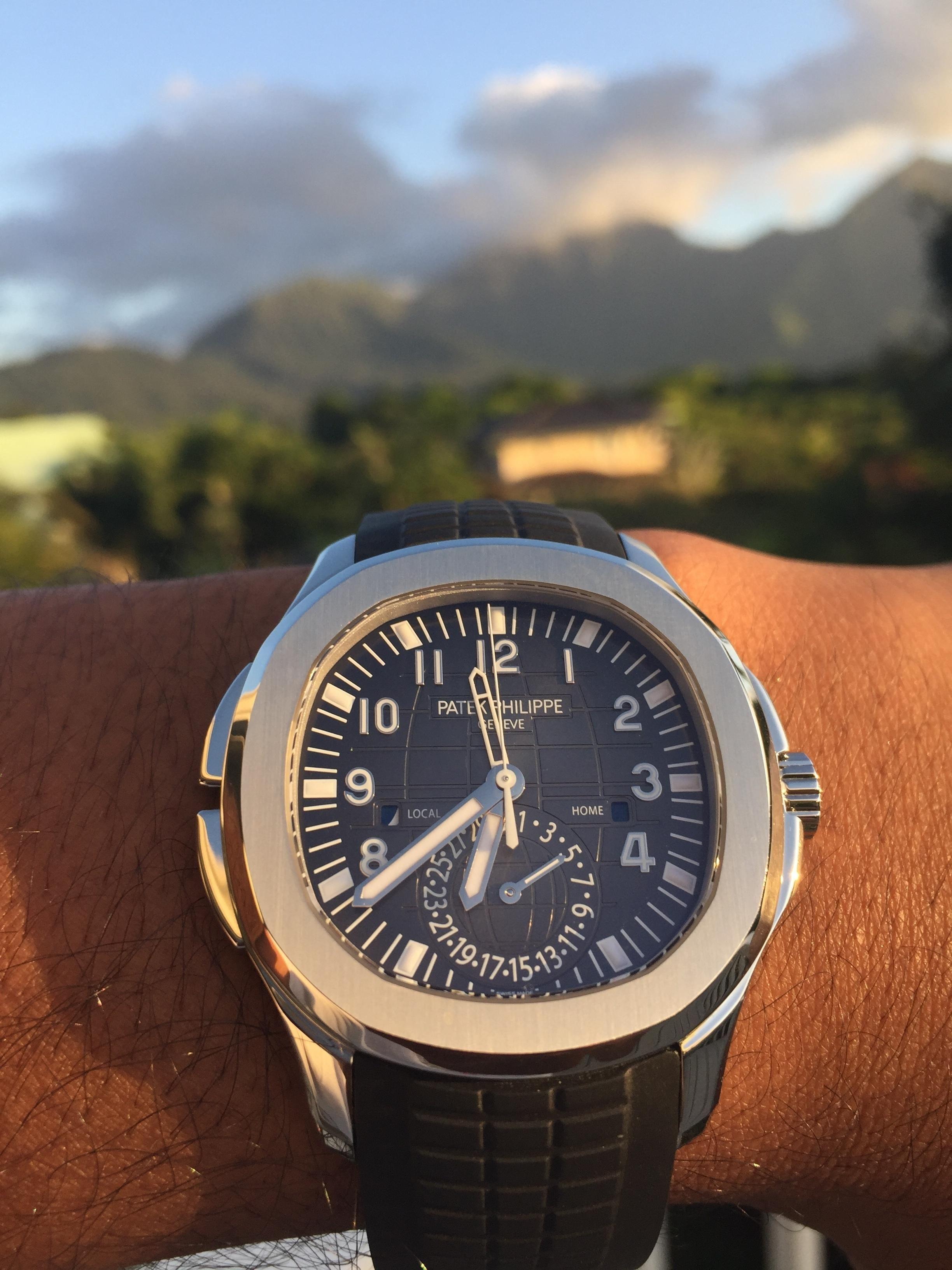 Patek Philippe 5164a Aquanaut Travel Time Watches En 2019 Reloj
