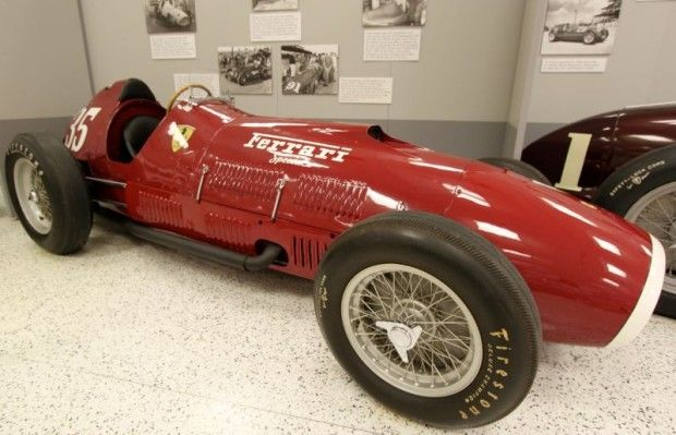 1952 Ferrari 375 Indianapolis Indy Roadster Indianapolis Motor Speedway Vintage Race Car