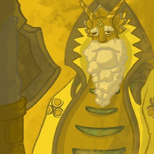 Tile 448 - Lanayru - Skyward Sword  #art #artwork #drawing #fanart #zeldachallenge #zelda #buckycarbon #legendofzelda #games #gaming #videogames #gamestagram #gaminglife #mosaic