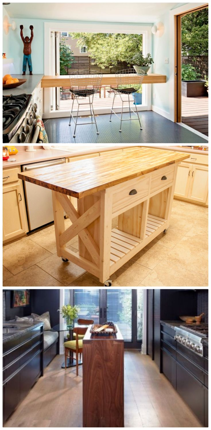 Kitchen island ideas for small spaces Kitchen room