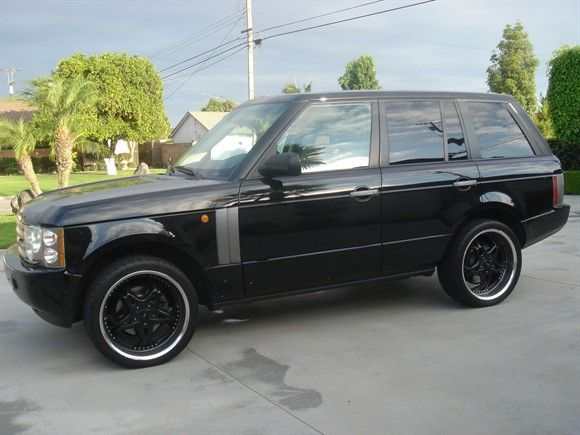 2004 Land Rover Range Rover Hse Cool Car Stuff