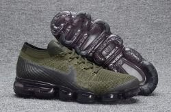 c8ece5882d7fb Latest style Nike Air VaporMax Flyknit Army Green Men s Running Shoes  Sneakers 899473 004