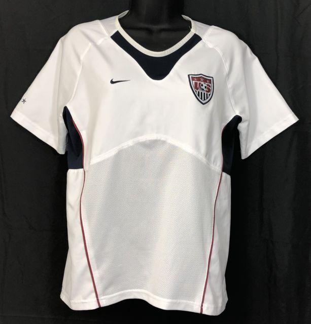 8f1a1494e07 Nike Dri Fit USA Soccer Jersey Blue Vintage 2010 USMNT World Cup - Size XL