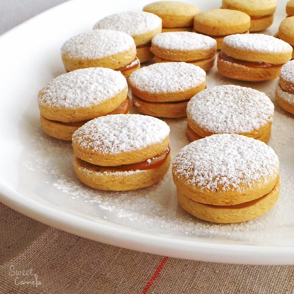 Alfajores Sweet Cannela Recipe South American Recipes Food American Desserts