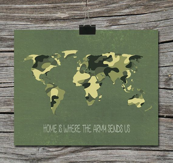 World map travel quote poster home is where the navy air force world map travel quote poster home is where the navy air force marines army military gumiabroncs Choice Image