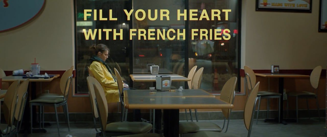 FILL YOUR HEART WITH FRENCH FRIES by Tamar Glezerman