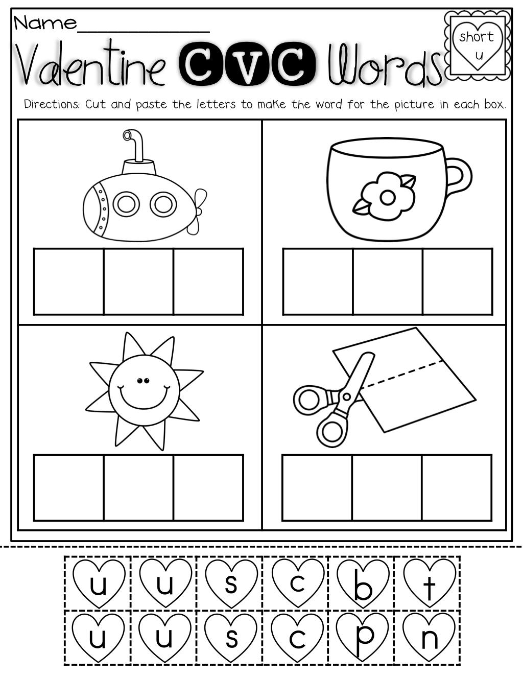February No Prep Packet Kindergarten Kindergarten Valentines Kindergarten Fun Valentines School [ 1325 x 1024 Pixel ]