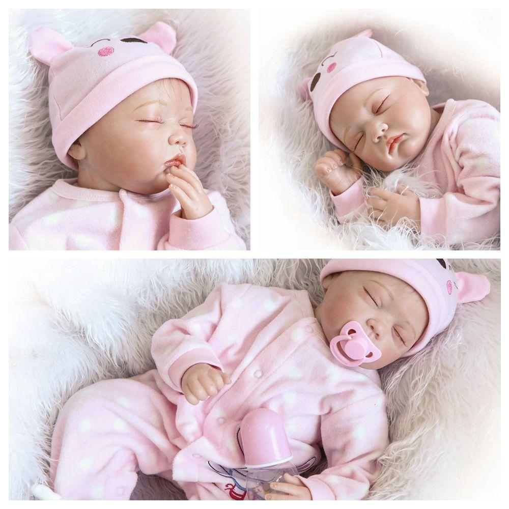 Toys in 2020 Baby girl dolls, Reborn dolls silicone, Newborn