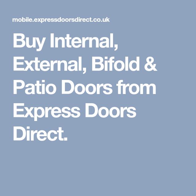Buy Internal External Bifold Patio Doors From Express Doors