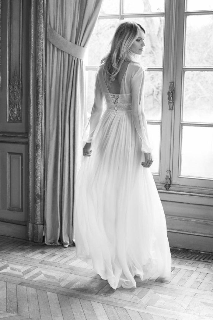 Brautkleider aus Frankreich von Margaux Tardits sind pure Linien für ...