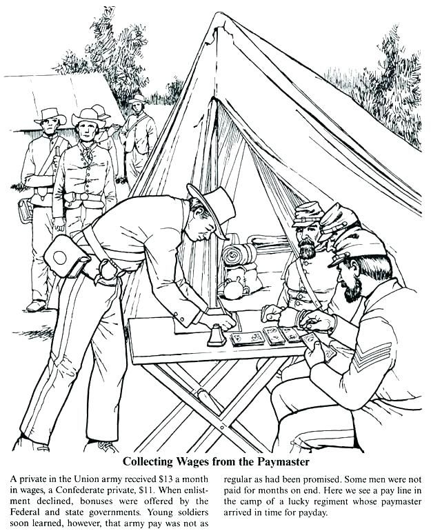 Civil War Coloring Pages | Coloring pages, Abraham lincoln ...