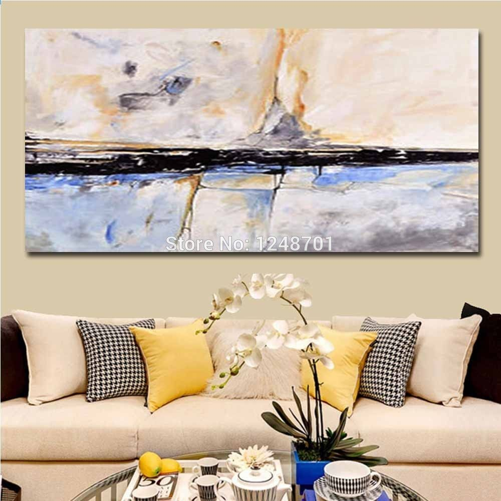 Diy Slaapkamer Girlscene Handgeschilderde Modern Design Impasto Abstract Canvas Olieverf
