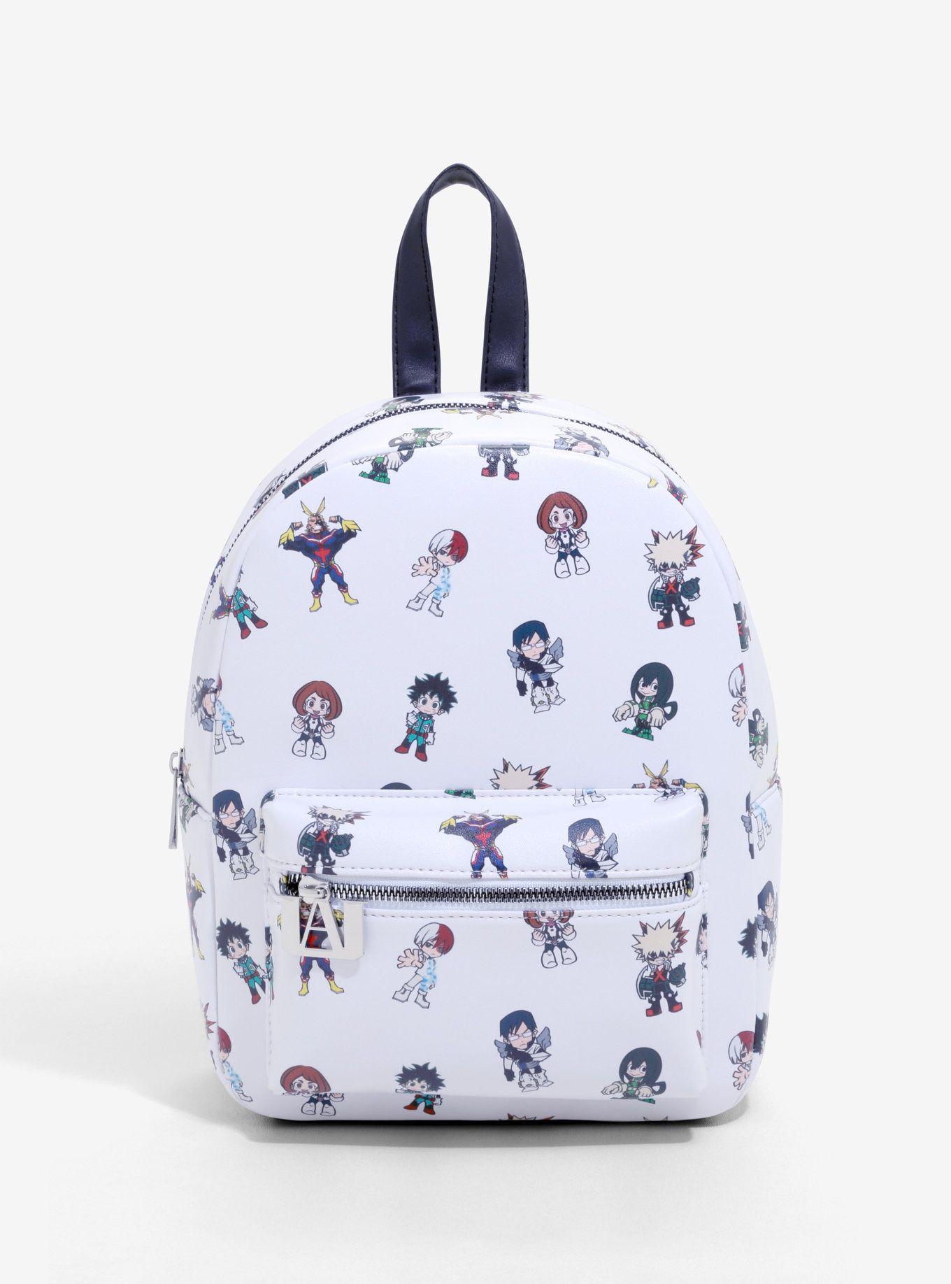 My hero academia chibi mini backpack my hero academia