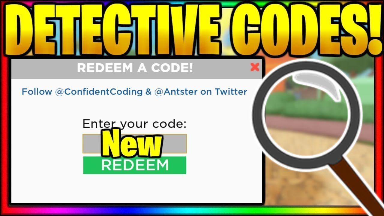Detective Codes 2020 New 100 Active Promo Codes Coding Promo Codes Coupon Detective